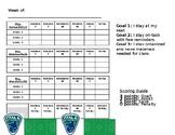 Behavior Intervention Plan - Lacrosse Themed