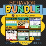 Behavior Intervention & Social Skills Bundle + Interactive