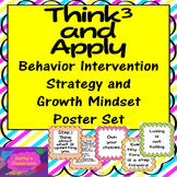 Growth Mindset Posters (20) & Behavioral Intervention Strategy Posters Pack