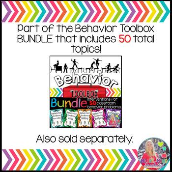 Behavior Intervention Toolbox: JEALOUS