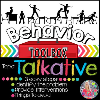 Behavior Intervention Toolbox: TALKATIVE