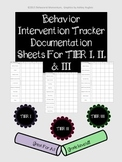Behavior Intervention Tracker