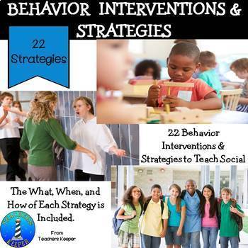 Behavior Interventions and Strategies
