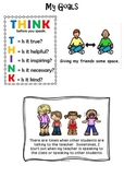 Behavior Lanyard and Goal Cards for Tier 3 RTI2B