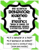 Behavior: Learned vs Inherited - Life Science
