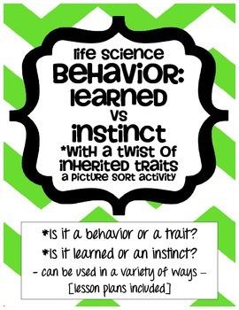 Behavior: Learned vs Inherited - Life Science