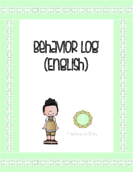 Behavior Log (English)