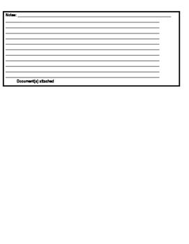 Behavior Log for Each Student (editable)