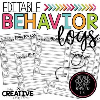 Behavior Logs (EDITABLE)