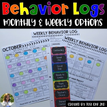 Behavior Logs: Monthly & Weekly