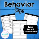 Behavior Logs for Parent Communication
