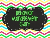 Behavior Magnetic Chart