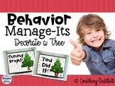Behavior Manage-Its - Decorate a Christmas Tree