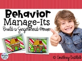 Behavior Manage-Its - Decorate a Gingerbread House