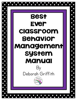 Behavior Management System (Behavior Clip Chart and Supports)