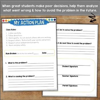 Behavior Management ACTION PLAN