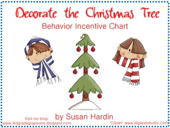 Behavior Management Activity: Decorate the Christmas Tree