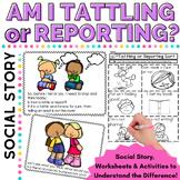 Social Skills:  Am I Tattling?