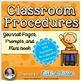 Behavior Management BUNDLE #2:Take A Break, Classroom Proc