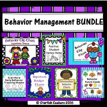 Behavior Management BUNDLE - Includes 7 Resources