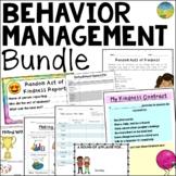 Behavior & Classroom Management BUNDLE