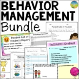 Behavior & Classroom Management BUNDLE