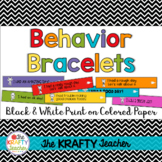 Behavior Management Bracelets works with ANY clipchart or card system