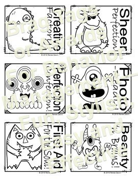 Behavior Management Brag Tags FREEBIE