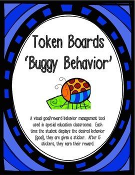 Behavior Management - Bug Token Boards