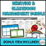 Behavior and Classroom Management Bundle