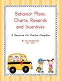 Behavior Management Bundle - Daily Behavior Plans, Charts, Rewards, Incentives