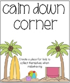 Behavior Management: Calm Down Corner