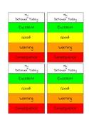 Behavior Management Card