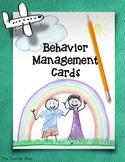 Behavior Management Cards - Graphics Update {The Teacher Stop}