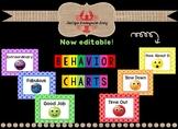 Editable Behavior Management Chart