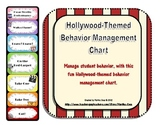 Behavior Management Chart: Hollywood Theme