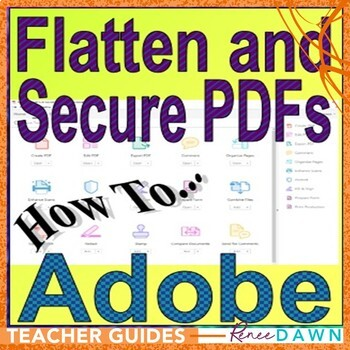 Flatten and Secure Files