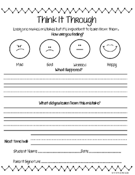 Behavior Management Charts and More!
