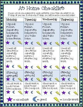 Behavior Management Checklists: At home & school