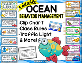 Behavior Management- Class Rules, Clip Chart & More EDITABLE