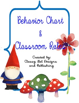 Behavior Management Classroom Rules and Expectations with