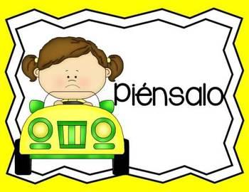 Behavior Management Clip Chart Car Theme Spanish