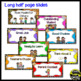Behavior Management Clip Chart ~ Jungle/Safari Theme