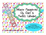 Behavior Management Clip Chart & Monthly Calendars - Bible Verse Based