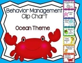 Behavior Management Clip Chart Ocean Theme