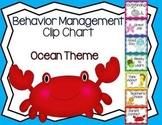 Behavior Management Clip Chart Ocean Theme