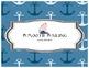 Behavior Management Clipchart Nautical - back to school