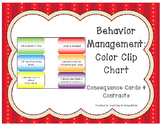 Behavior Management Consequence Cards, Contracts, and Refl