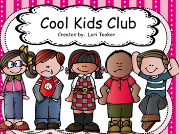 Colors Beginning of Year/ Classroom Management-Cool Kids Club 2