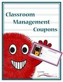 Reward Coupons – Classroom Management